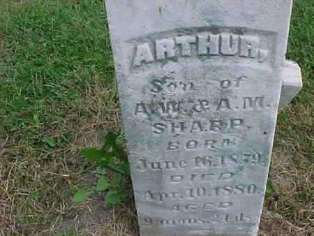 SHARP, ARTHUR - Henry County, Iowa | ARTHUR SHARP