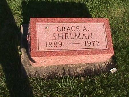 SHELMAN, GRACE A. - Henry County, Iowa   GRACE A. SHELMAN