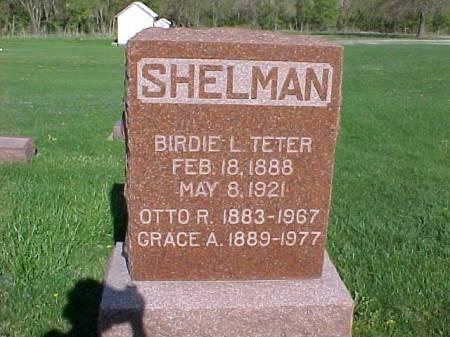 SHELMAN, BIRDIE L. - Henry County, Iowa | BIRDIE L. SHELMAN