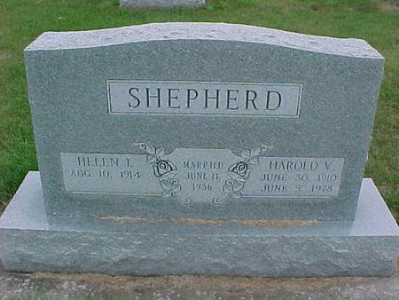 SHEPHERD, HAROLD - Henry County, Iowa   HAROLD SHEPHERD