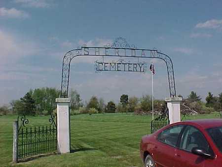 SHERIDAN, CEMETERY - Henry County, Iowa   CEMETERY SHERIDAN