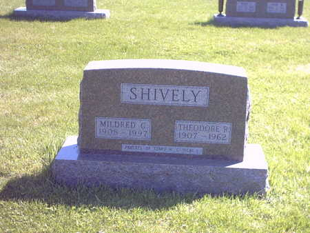 GARRELLS SHIVELY, MILDRED G. - Henry County, Iowa | MILDRED G. GARRELLS SHIVELY