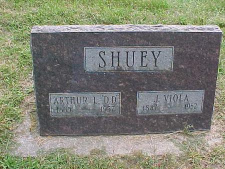 SHUEY, ARTHUR L - Henry County, Iowa | ARTHUR L SHUEY