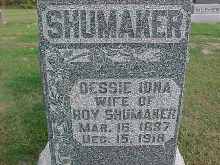 SHUMAKER, DESSIE IONA - Henry County, Iowa | DESSIE IONA SHUMAKER