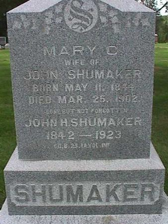 SHUMAKER, MARY C - Henry County, Iowa | MARY C SHUMAKER