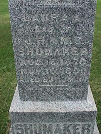 SHUMAKER, LAURA A - Henry County, Iowa | LAURA A SHUMAKER