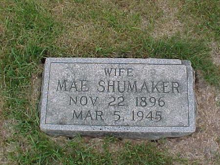 SHUMAKER, MAE - Henry County, Iowa | MAE SHUMAKER