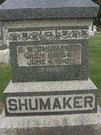 SHUMAKER, S. W. - Henry County, Iowa | S. W. SHUMAKER