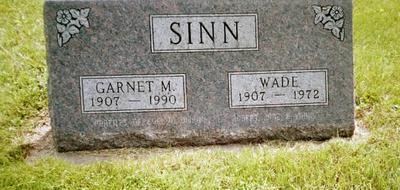 SINN, GARNET - Henry County, Iowa | GARNET SINN