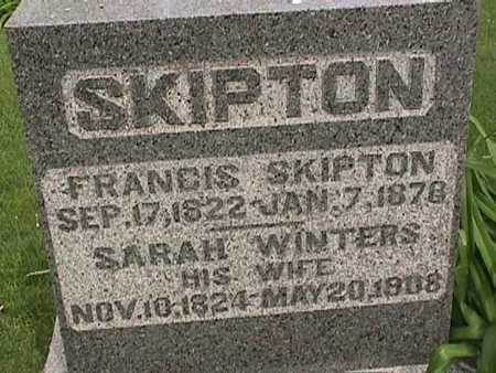 SKIPTON, FRANCIS - Henry County, Iowa | FRANCIS SKIPTON