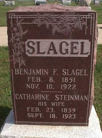 SLAGEL, BENJAMIN F. - Henry County, Iowa | BENJAMIN F. SLAGEL