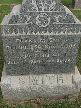 SMITH, FRANK M - Henry County, Iowa | FRANK M SMITH