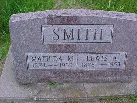SMITH, MATILDA - Henry County, Iowa | MATILDA SMITH