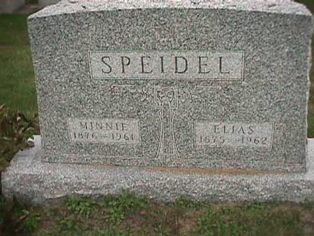 SPEIDEL, MINNIE - Henry County, Iowa | MINNIE SPEIDEL