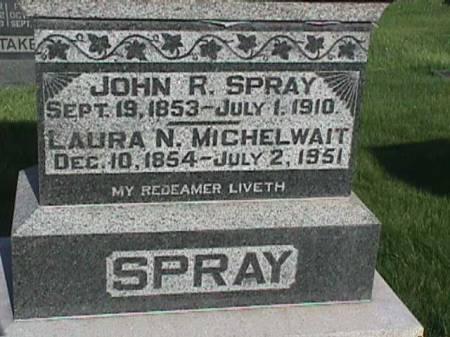 SPRAY, JOHN R. - Henry County, Iowa | JOHN R. SPRAY