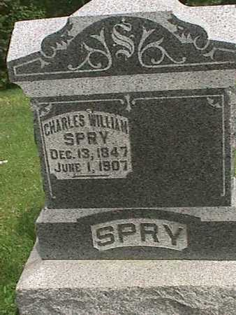 SPRY, CHARLES WILLIAM - Henry County, Iowa   CHARLES WILLIAM SPRY