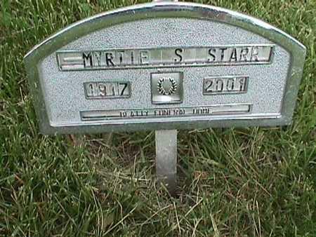 STARR, MYRTLE - Henry County, Iowa   MYRTLE STARR