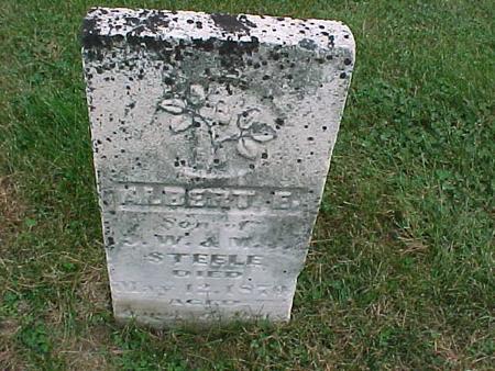 STEELE, ALBERT E. - Henry County, Iowa | ALBERT E. STEELE