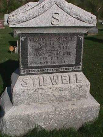 STILWELL, MILTON C. - Henry County, Iowa | MILTON C. STILWELL