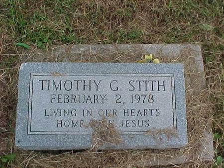 STITH, TIMOTHY - Henry County, Iowa   TIMOTHY STITH
