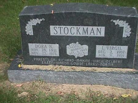 STOCKMAN, DORA N - Henry County, Iowa | DORA N STOCKMAN
