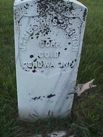 STOCKTON, JAMES H. - Henry County, Iowa   JAMES H. STOCKTON