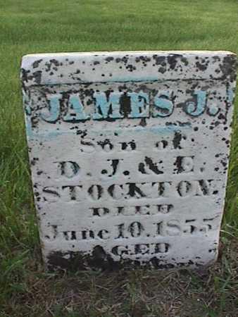STOCKTON, JAMES J. - Henry County, Iowa   JAMES J. STOCKTON