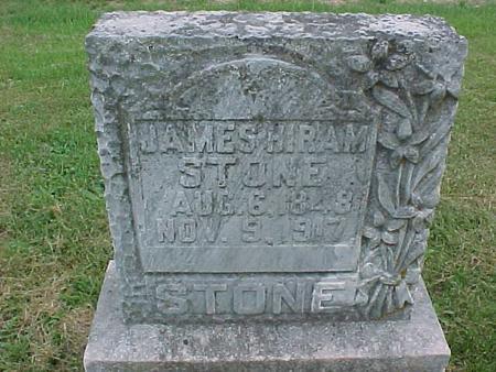 STONE, JAMES HIRAM - Henry County, Iowa | JAMES HIRAM STONE