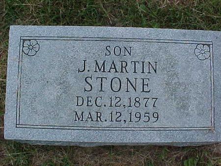 STONE, J. MARTIN - Henry County, Iowa | J. MARTIN STONE