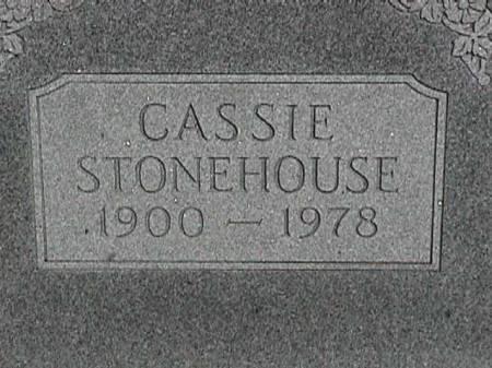 STONEHOUSE, CASSIE - Henry County, Iowa   CASSIE STONEHOUSE