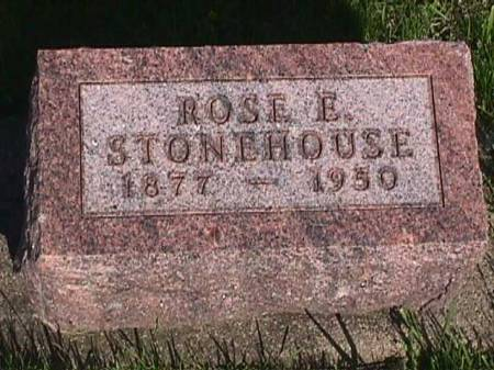 STONEHOUSE, ROSE E. - Henry County, Iowa   ROSE E. STONEHOUSE
