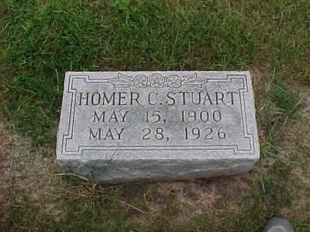 STUART, HOMER - Henry County, Iowa   HOMER STUART