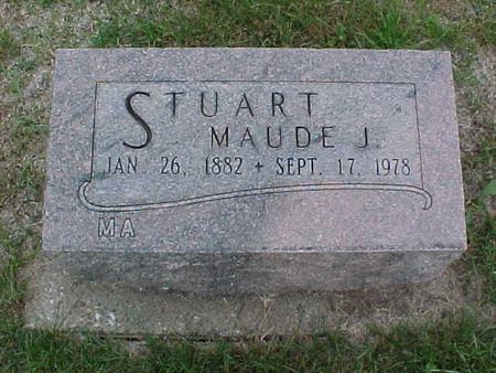 STUART, MAUDE J. - Henry County, Iowa | MAUDE J. STUART