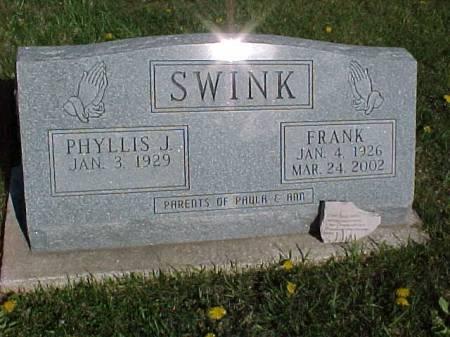 SWINK, FRANK - Henry County, Iowa   FRANK SWINK