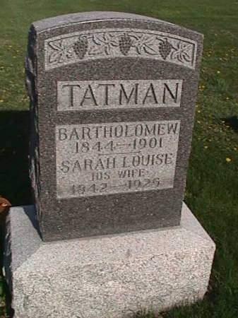 TATMAN, BARTHOLOMEW - Henry County, Iowa | BARTHOLOMEW TATMAN