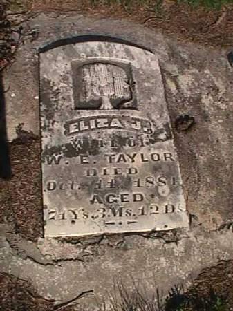 TAYLOR, ELIZA J. - Henry County, Iowa | ELIZA J. TAYLOR