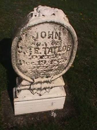 TAYLOR, JOHN - Henry County, Iowa | JOHN TAYLOR