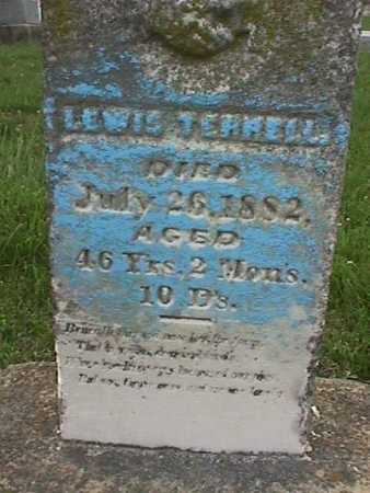 TERRELL, LEWIS - Henry County, Iowa | LEWIS TERRELL