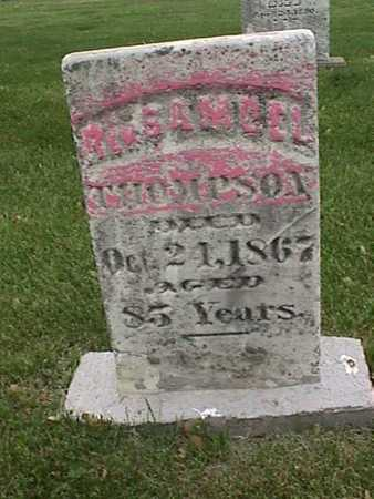 THOMPSON, SAMUEL - Henry County, Iowa | SAMUEL THOMPSON