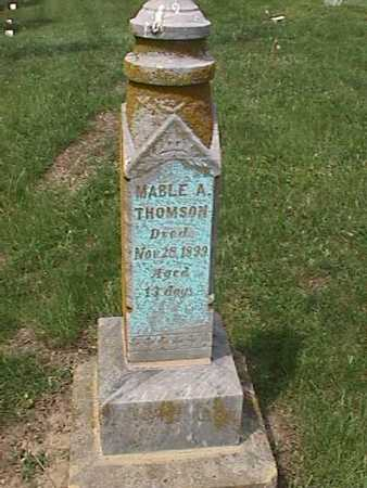 THOMSON, MABLE A - Henry County, Iowa | MABLE A THOMSON
