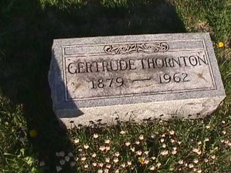 THORNTON, GERTRUDE - Henry County, Iowa | GERTRUDE THORNTON