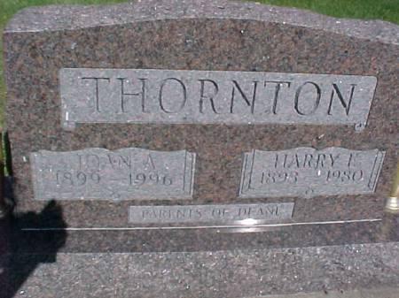 THORNTON, HARRY L - Henry County, Iowa | HARRY L THORNTON
