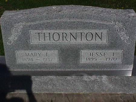 THORNTON, JESSE J - Henry County, Iowa | JESSE J THORNTON