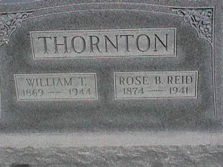THORNTON, ROSE B. - Henry County, Iowa | ROSE B. THORNTON