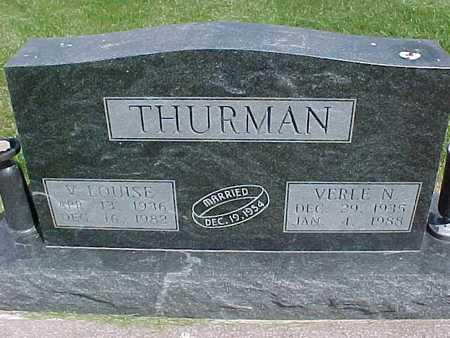 THURMAN, V. LOUISE - Henry County, Iowa | V. LOUISE THURMAN