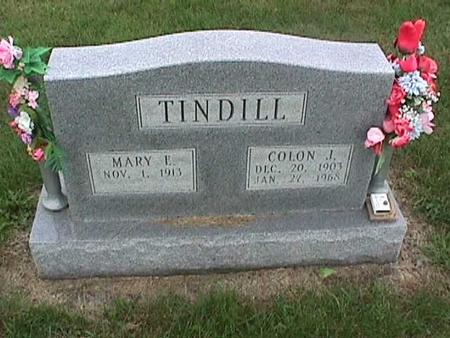 TINDILL, COLON - Henry County, Iowa | COLON TINDILL
