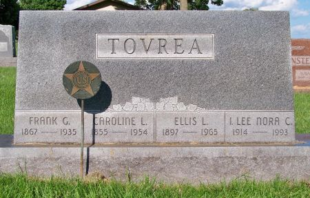 TOVREA, FRANK G. - Henry County, Iowa   FRANK G. TOVREA