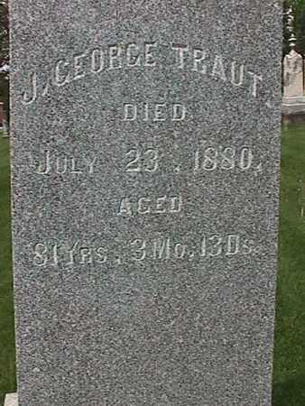 TRAUT, J. GEORGE - Henry County, Iowa   J. GEORGE TRAUT