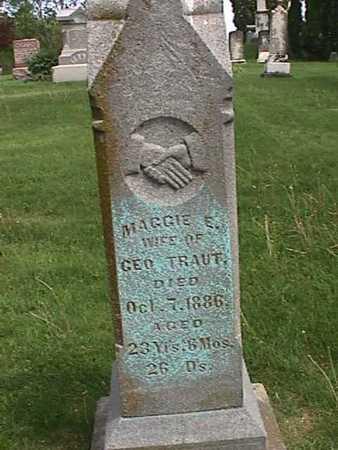 TRAUT, MAGGIE E. - Henry County, Iowa | MAGGIE E. TRAUT