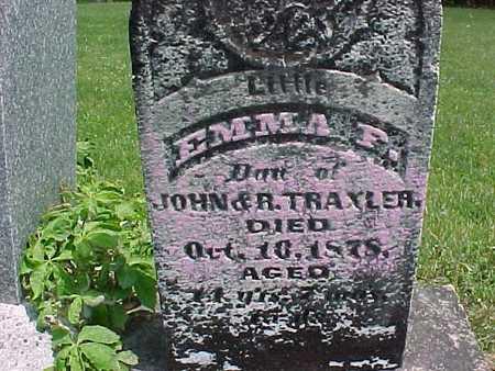 TRAXLER, EMMA - Henry County, Iowa | EMMA TRAXLER
